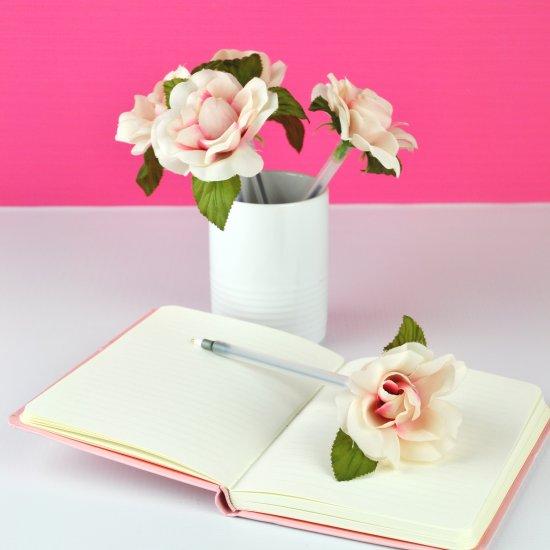 Diy Flower Pens Craftgawker