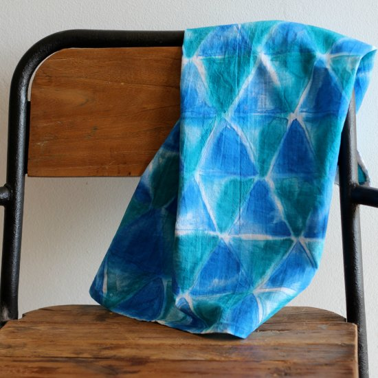 Watercolor dyed tea towels