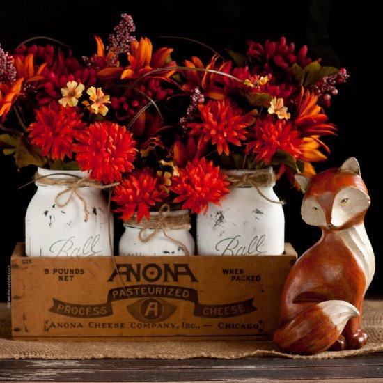 Painted Mason Jar Gallery Craftgawker