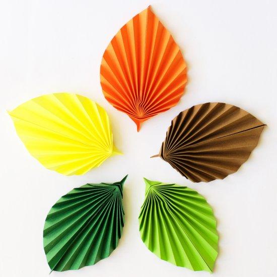 Hungryheart craftgawker diy easy paper leaves mightylinksfo