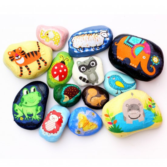 Fabric Scrap Pebbles