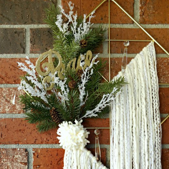 Bohemian Holiday Wreath