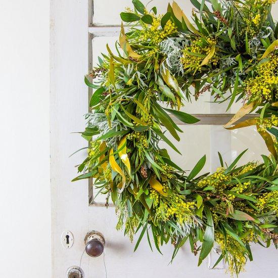 Australian Native Christmas Wreath