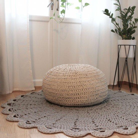Diy Crochet Pouf Free Pattern Craftgawker