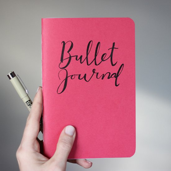 diy dot grid bullet journal craftgawker