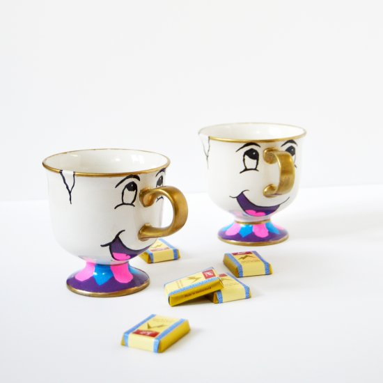 image about Chip Teacup Printable called sharpie mugs gallery craftgawker