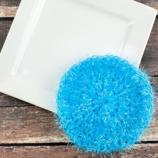 Round Crochet Dish Scrubbie Pattern Craftgawker