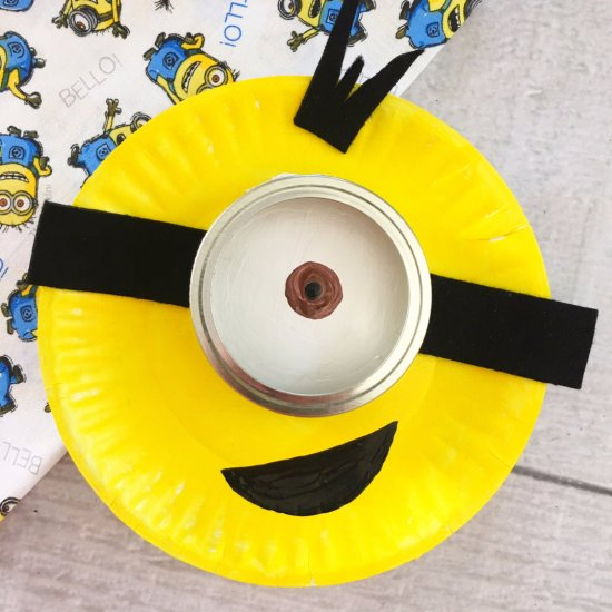 ... Minion Paper Plate Craft for Kids & despicable me gallery | craftgawker