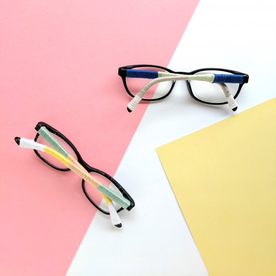 Color Wrapped Eyeglasses