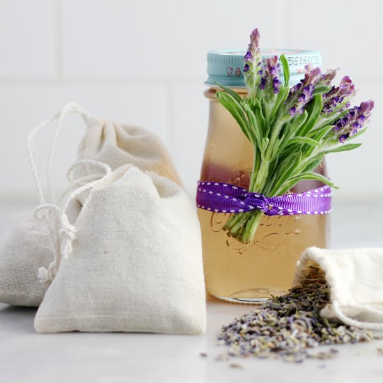 Lavender Sachets & Simple Syrup