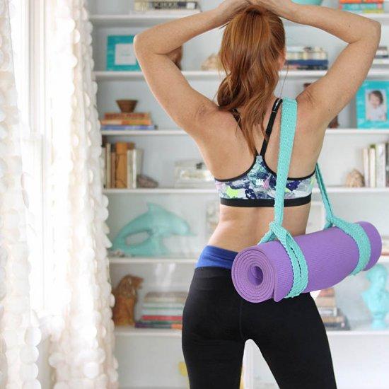 Yoga Mat Strap Knitting Pattern
