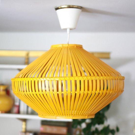 A boho style light fixture