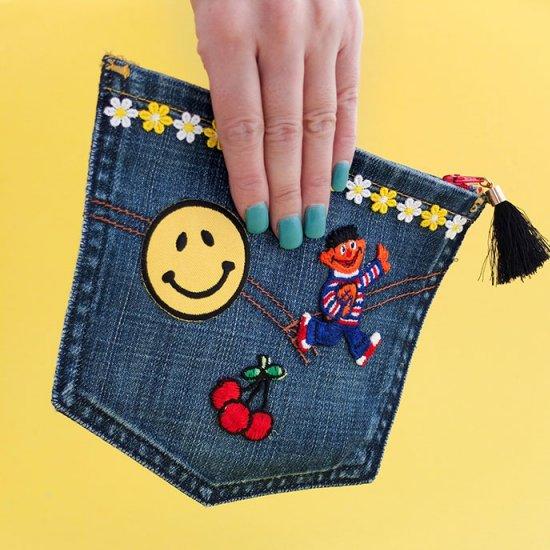 Upcycled Jean Pocket Purse