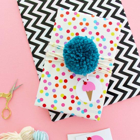 Pom & Tassel Gift Wrap