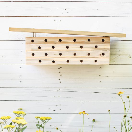Modern Bee House DIY