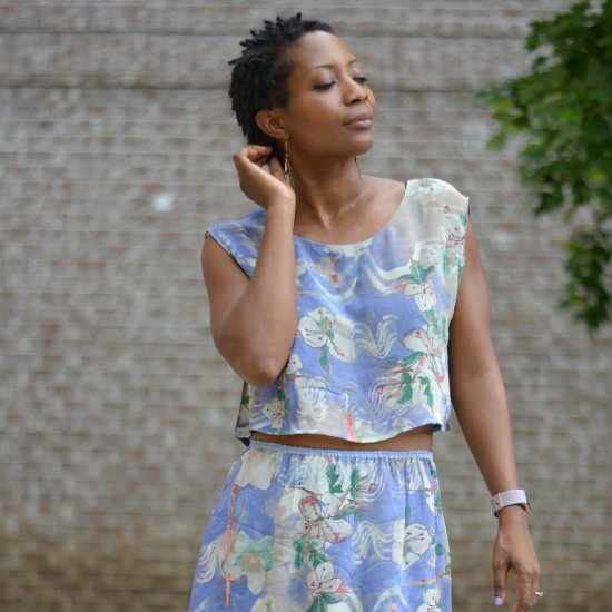 Makeover Dowdy Thrift Store Dress