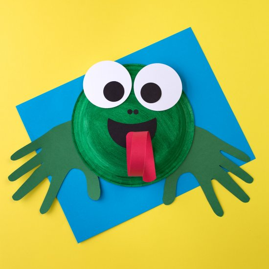 ... Paper Plate Frog & paper plates gallery | craftgawker - page 2