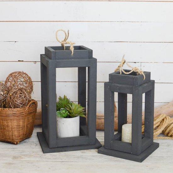Diy Outdoor Wooden Lanterns Craftgawker