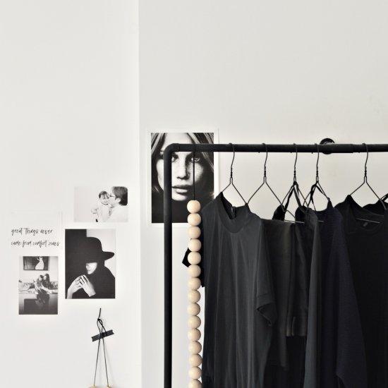 DIY open closet