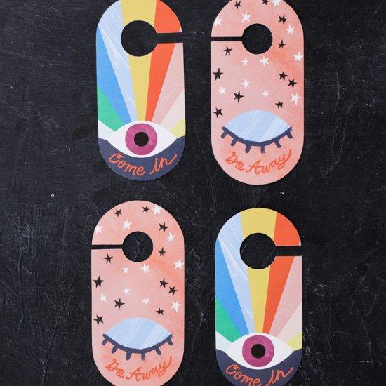 Printable door knobs