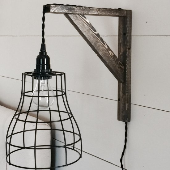 DIY Farmhouse Style Pendant Lights