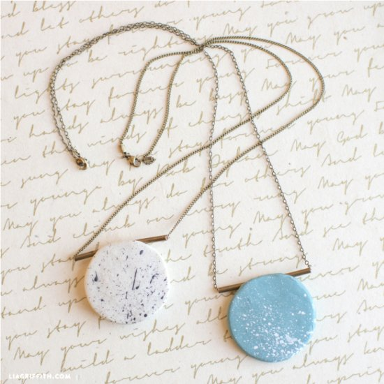 Make Your Own Polymer Clay Necklace