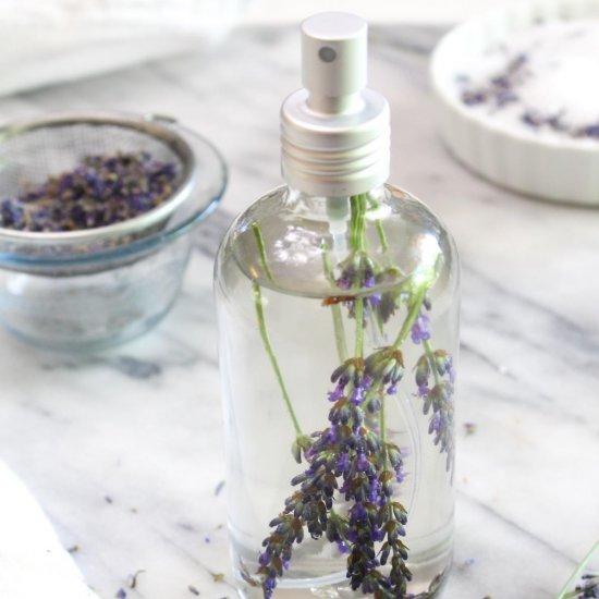 Lavender Linen Spray and Bath Soak