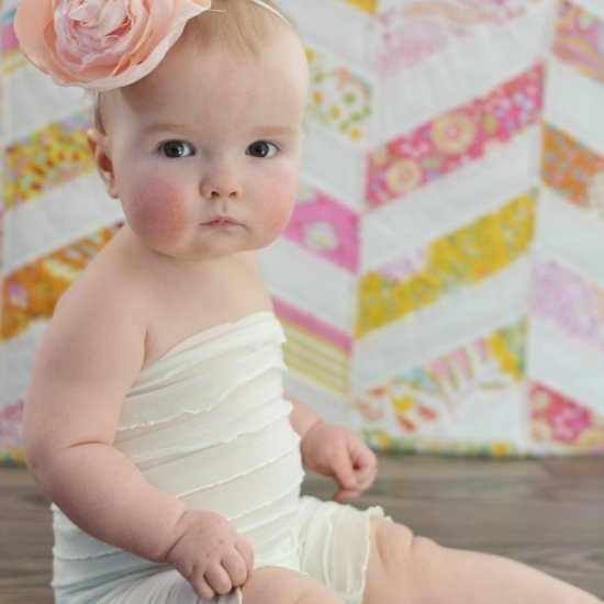 How o Sew a DIY Ruffled Romper