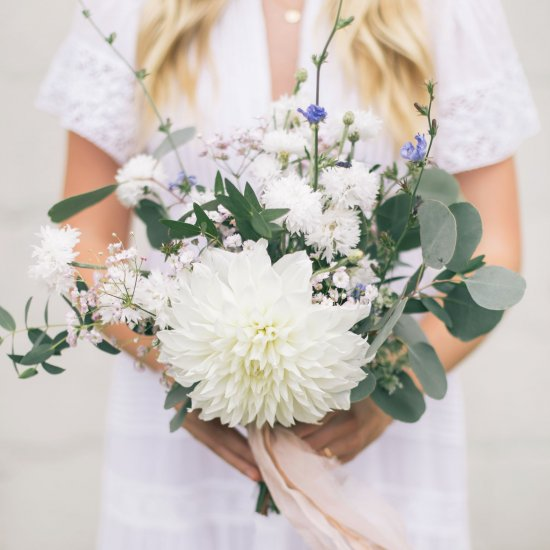 Hand Tied Floral Bouqet