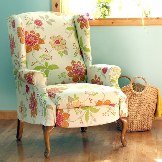 fabric chair makeover
