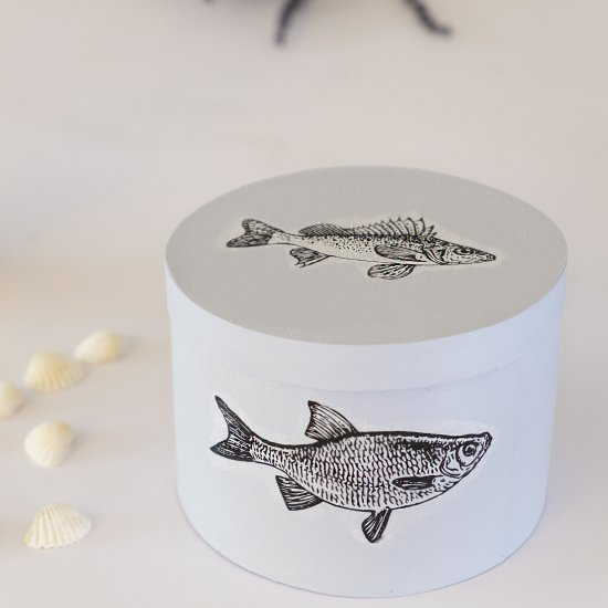 Diy: Decorative boxes with fish