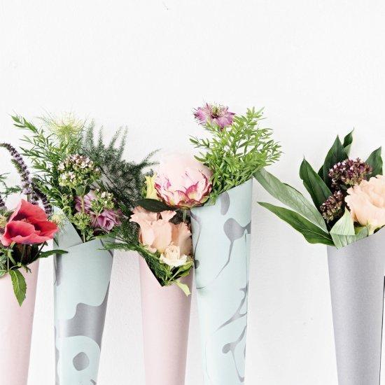DIY Flower Cones