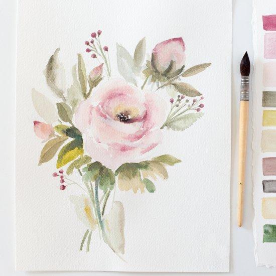 Free watercolor printable