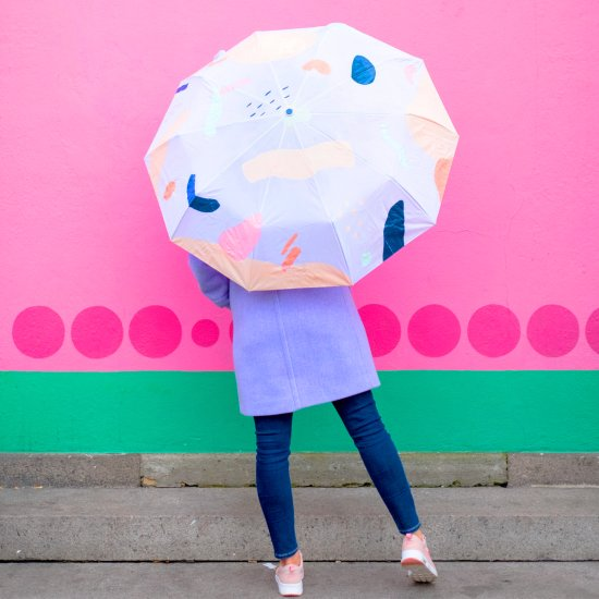 DIY Abstract Umbrella