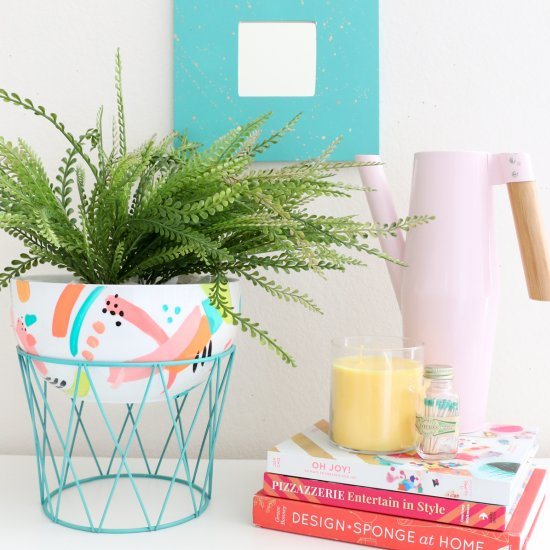 Diy Modern Bowl Planter