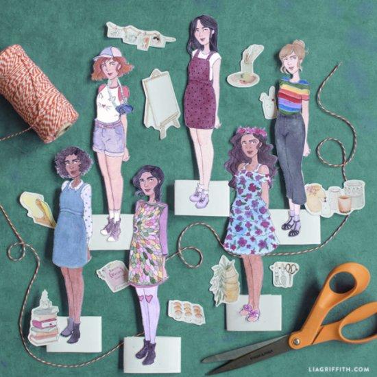 Free Paper Doll Kit!