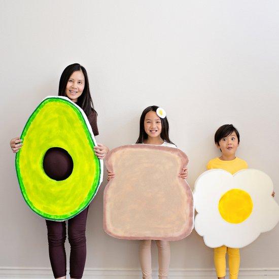 Family Avocado Toast Costumes
