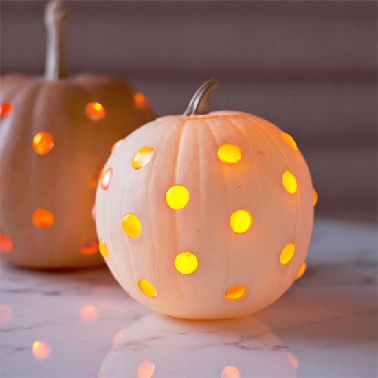 Glass Bead Pumpkins