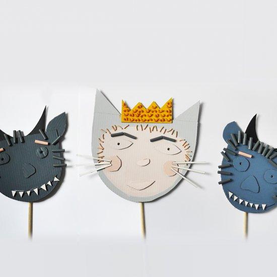 Pasta Cardboard Masks
