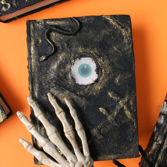 Create this fun spell book