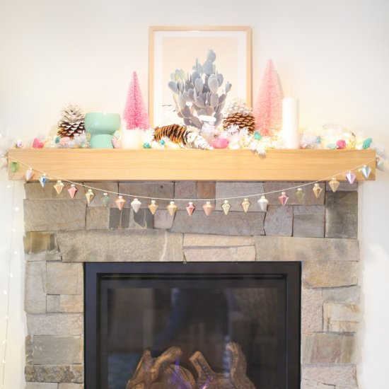 ... Quick and Easy DIY Ornament Garland