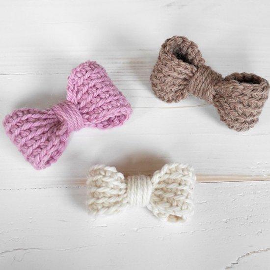 Easy Crochet Bow Pattern Craftgawker
