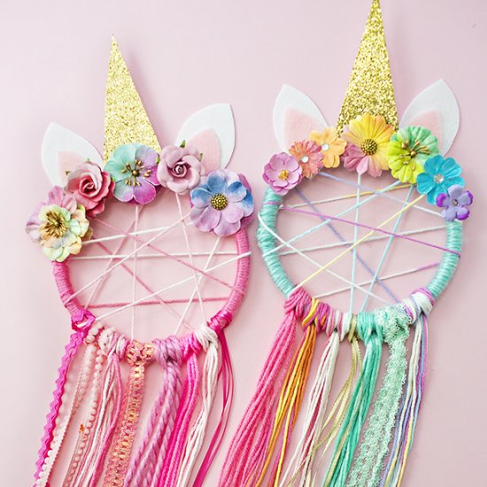 ... DIY Unicorn Dreamcatcher 84020ed9aaf