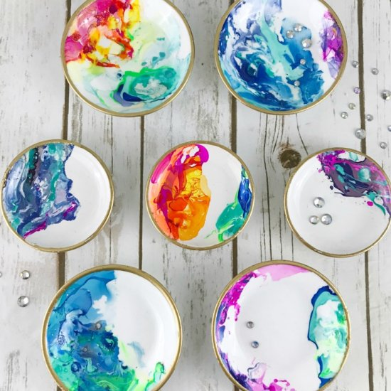 ... DIY Marbled Ring Dishes  sc 1 st  Craftgawker & jewelry holder gallery | craftgawker