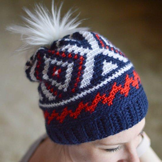 38b8b5e33b0 crochet neva hat -team usa olympics