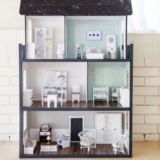 Fixer Upper Dollhouse Makeover Craftgawker