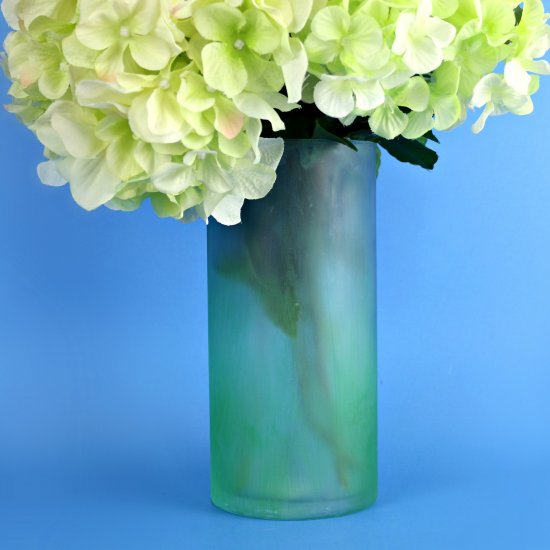 Faux Sea Glass Vase Craftgawker