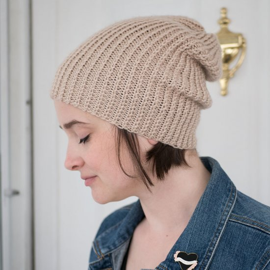 Knit Slouchy Beanie Pattern Craftgawker