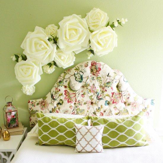 giant flower wall decor | craftgawker