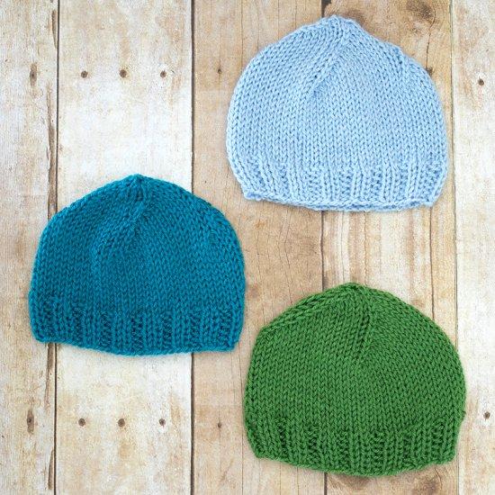 Newborn Hat Knitting Pattern Craftgawker